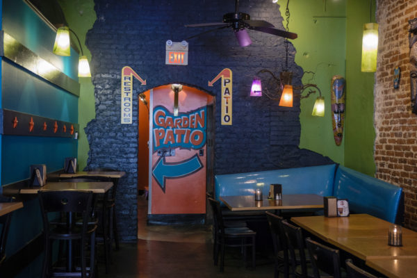 interior of Raging Burrito