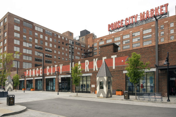 Ponce City Market and skyline