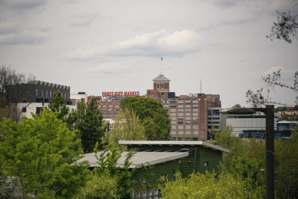 Old Fourth Ward skyline overlooks Ponce City Market