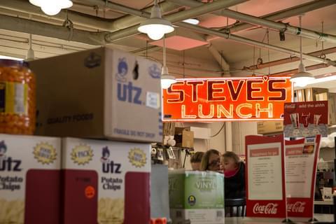 Steve's Lunch: Cross Street Market,