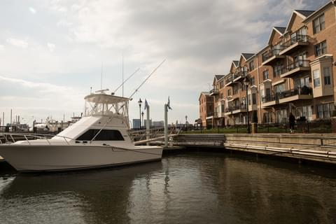 This neighborhood is right on the water, which makes it a perfect location for summertime events.