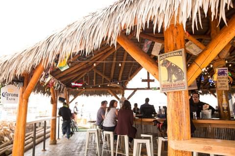 The Tiki Hut at Bo Brooks,