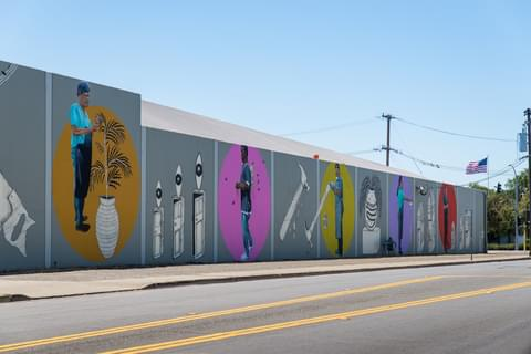 San Leandro Street Art makes every errand, walk, or commute a little more exciting.