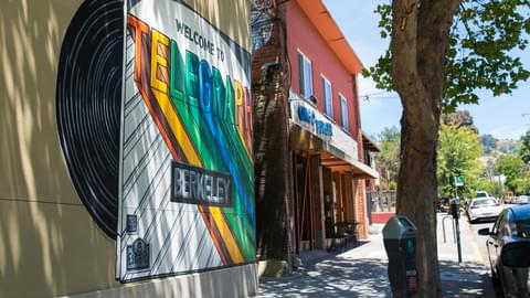 Downtown Berkeley, East Bay, CA