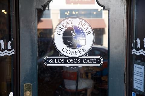 great bear coffee door