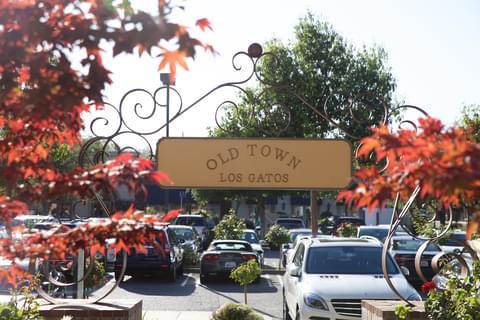 old town los gatos sign