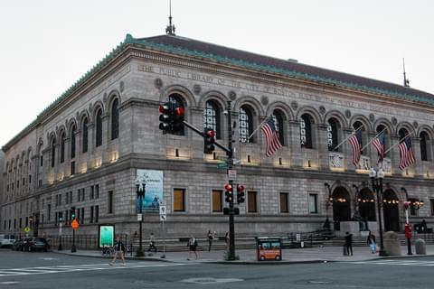 Boston Public Library,