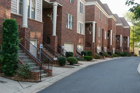 Red-Brick Townhomes,