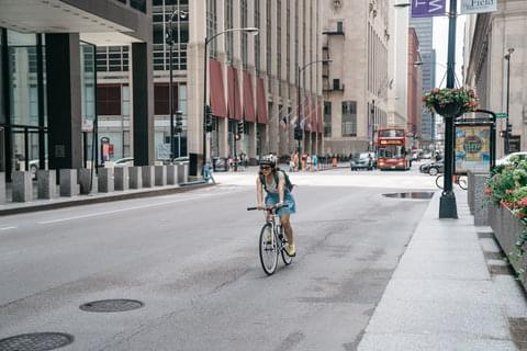 Downtown Cycling,