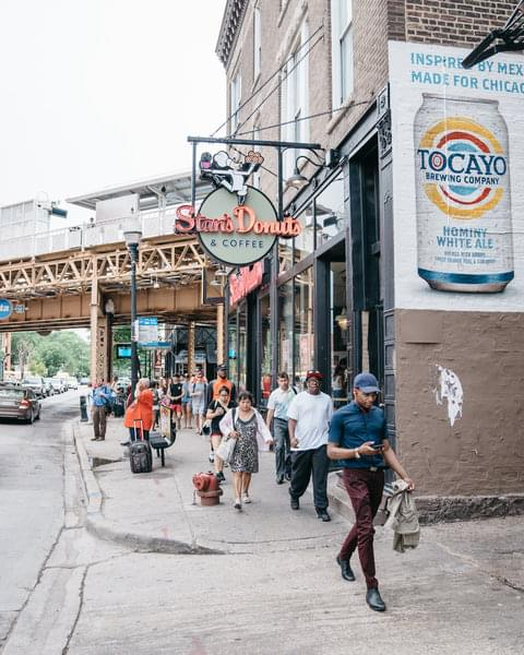 Brimming with late-20s Wrigleyville ex-pats in search of more mature surroundings, Wicker Park boasts new restaurants, antique stores, and a lively music scene. 10 years ago Wicker Park was on its way to becoming Chicago's next hot 'hood—today, it's arrived.