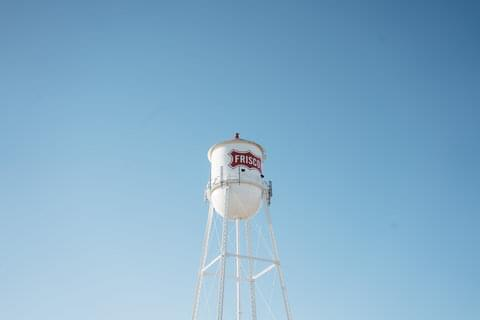 Frisco Water Tower,