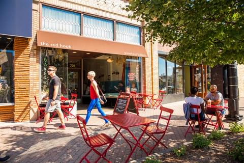 The Red Hook Coffee Shop & Pinwheel Bakery,