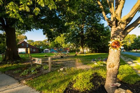 Community Gardens In Morningside,