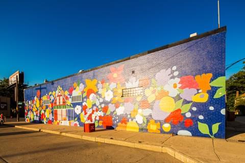 Murals In Morningside,