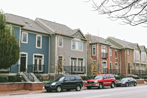 The Lockerbie Square Historic District is one of Indianapolis's oldest communities, where well-preserved homes and buildings maintain a link to the past for the many families who now call the area home.