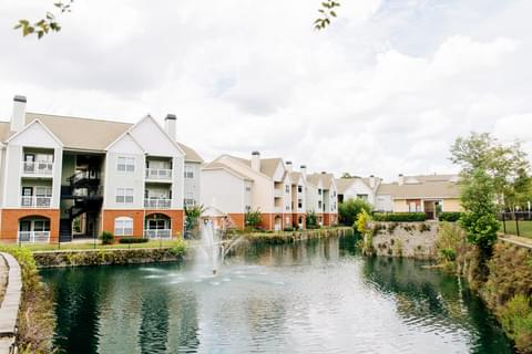 Affordable waterfront apartment living can be yours in Orange Park.