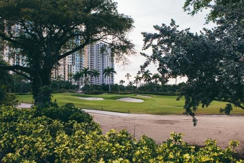 Turnberry Isle Golf Course and Don Soffer Exercise Trail,