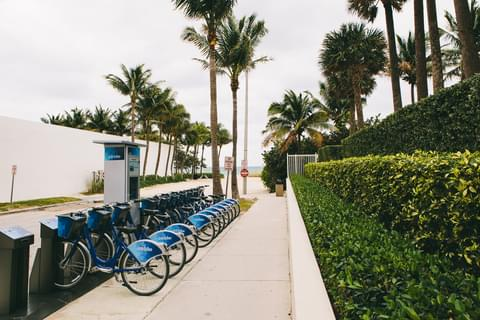 Bike Share in Bal Harbour,