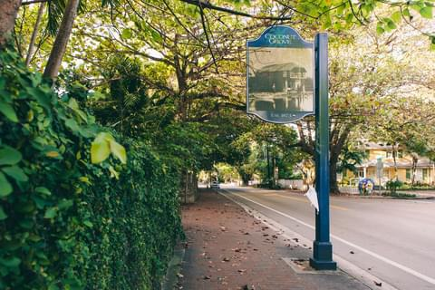 The Historic Neighborhood of Coconut Grove,