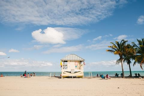 Beaches in Key Biscayne,