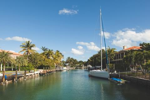 A short ride over the Rickenbacker Causeway sits the quaint island of Key Biscayne, where sunny beaches, opulent boats and seafood eateries create a Key West-vibe right outside a major city.