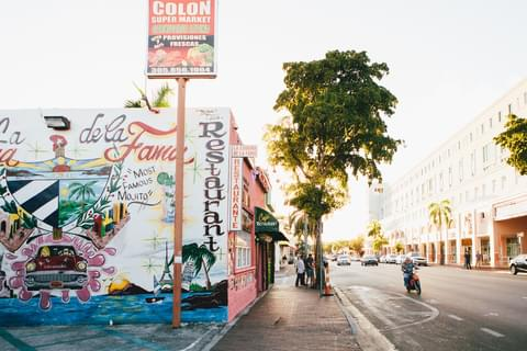 As one of the largest Cuban neighborhoods outside of the island nation, Little Havana oozes Central and South American culture with vibrant city streets and bustling local life.