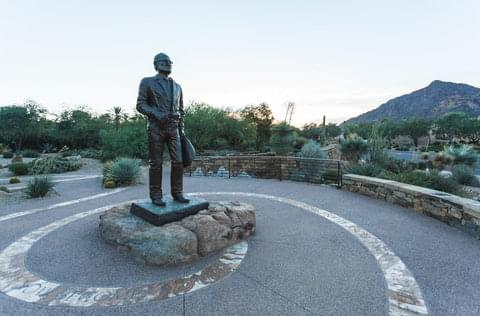 Barry Goldwater Statue,
