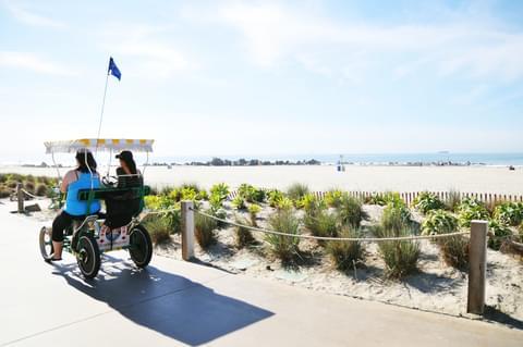 Beachside Surrey Rides,