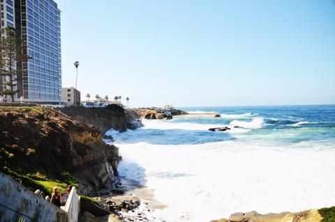 La Jolla's name comes from the Spanish word for 'jewel', but is also a geographical term meaning 'hollow, cavity, pit or river bed.'