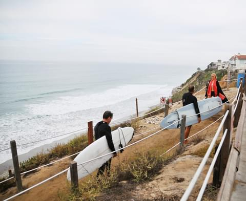 Outdoor options abound in North County's Encinitas, where more than 30 miles of biking, running, riding, and hiking trails are well-suited for local residents on the move.