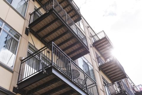 Apartments with Balconies,
