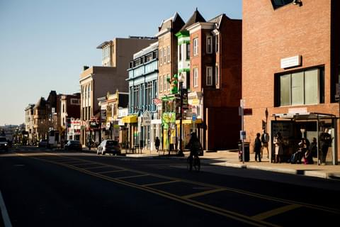 18th Street in Adams Morgan,