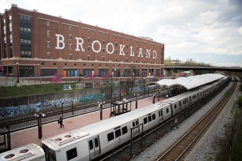 Brookland Metro Station,