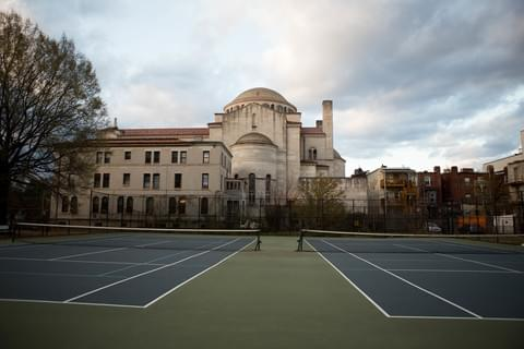 Powell Recreation Center Tennis Courts,