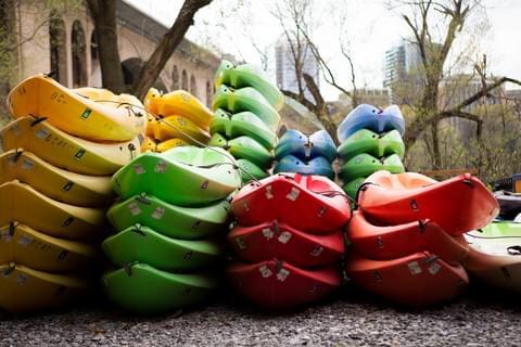 Kayak on the Potomac River,